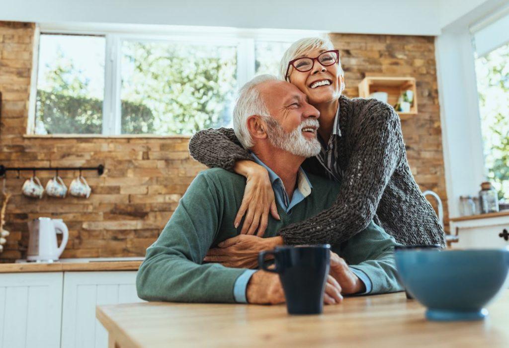Couple Senior Activité Retraite