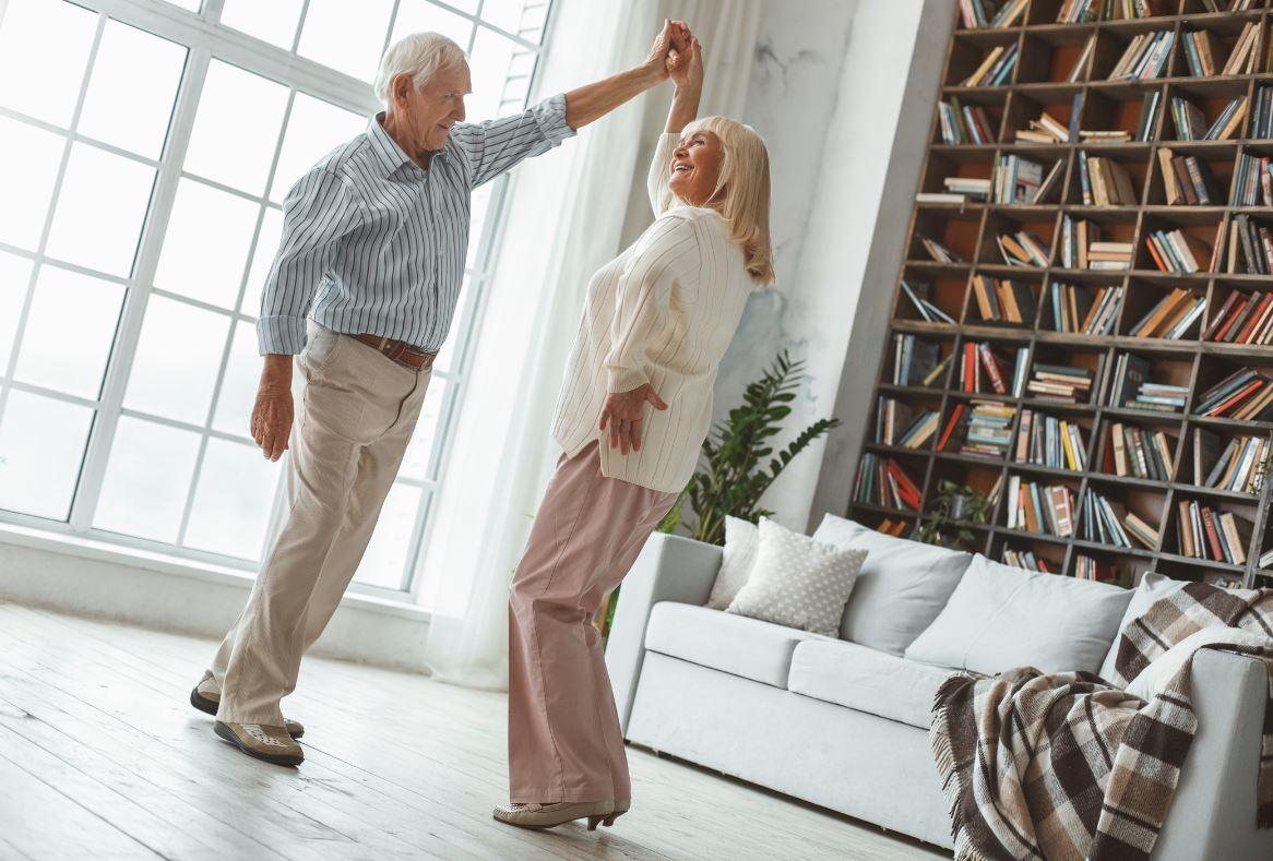 Senior Danse Twist Annees 60