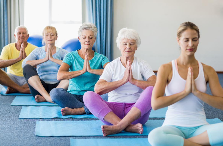 Yoga Senior Postures