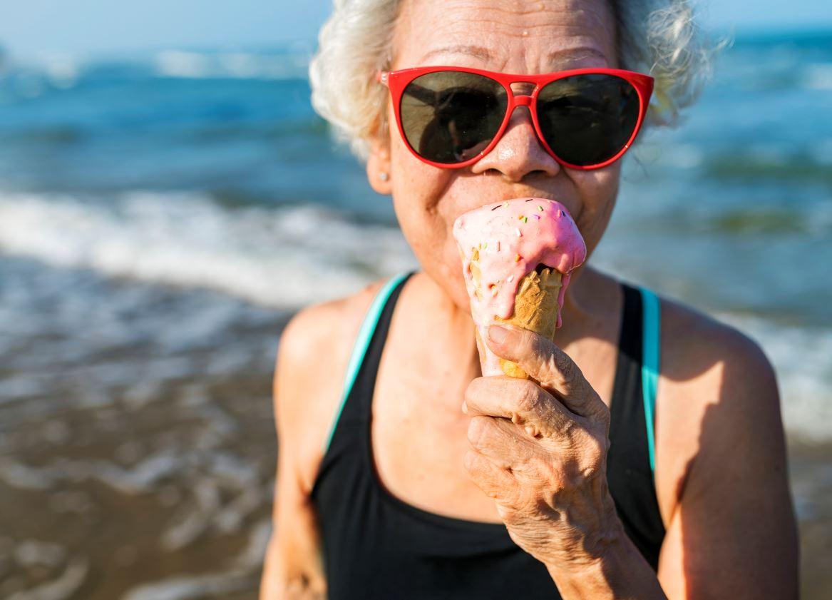 Femme Senior Celibataire Vacances