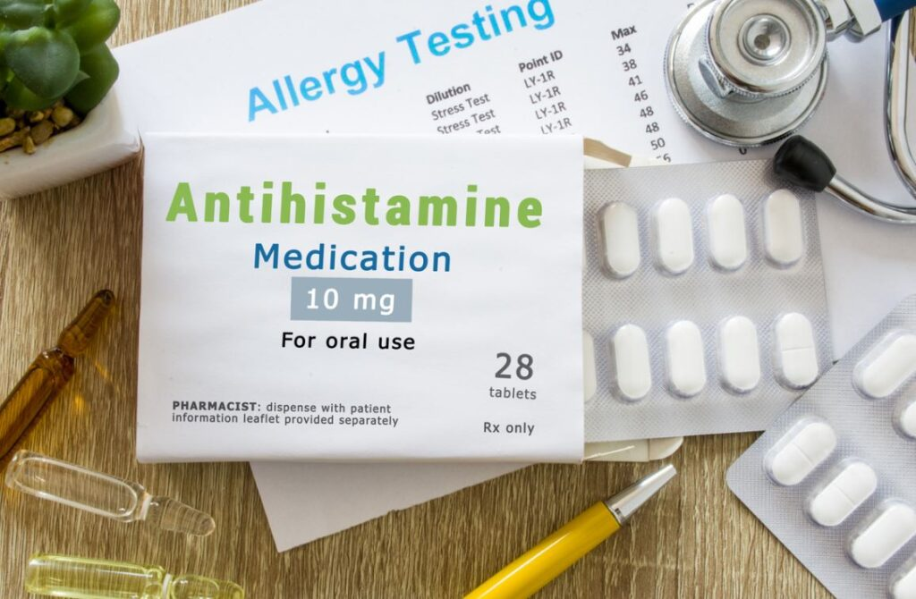 Desloratadine Antihistaminique Allergies
