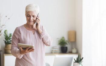Telephones A Caplet Facile à utiliser pour les Seniors