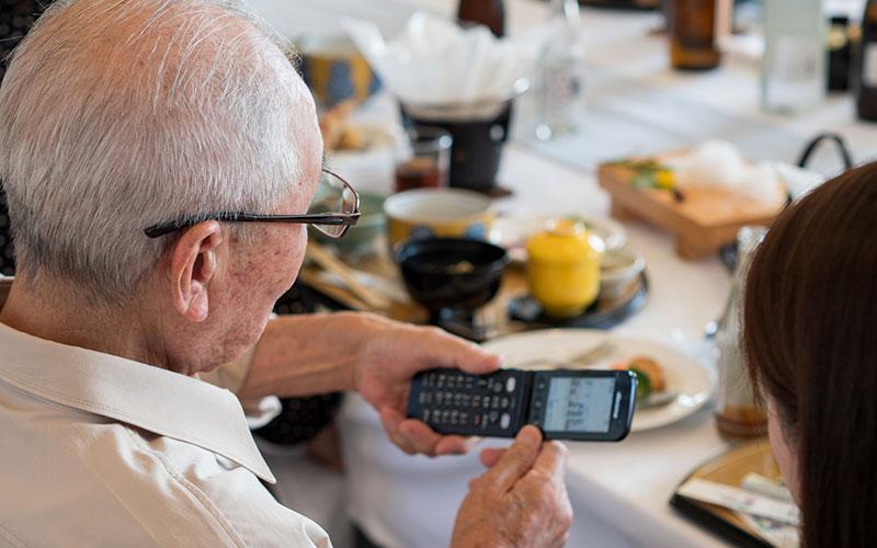 Telephones A Clapet Senior