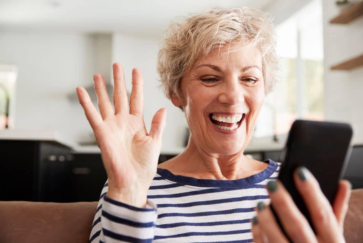Cadeau Femme Senior Smartphone