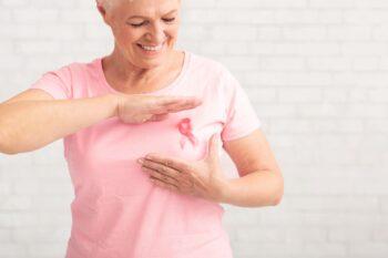 Cancer Sein Femme Senior