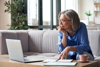 Alt=Femme senior formation retraite