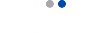 Journal Des Seniors Logo Centre Noir Et Blanc